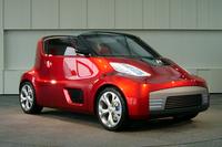 「日産ラウンドボックス」。「キューブ」と「Z」の融合といえるコンセプトカーだ。