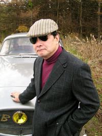 """Mr.カーン""こと、自動車ジャーナリストの川上完氏。"