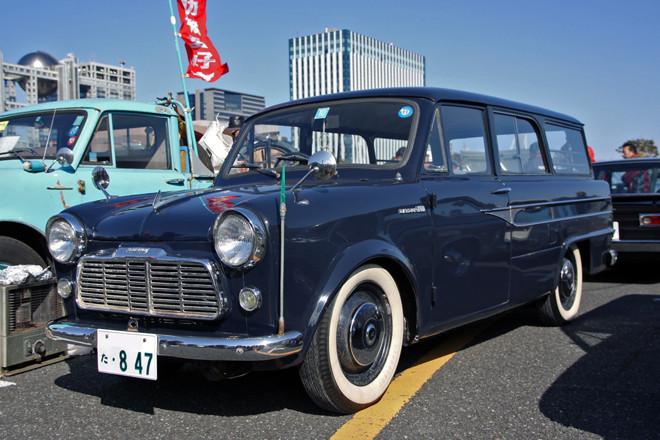 1960年「ダットサン1000ライトバン」(VG221)。初代「ブルーバ... 1960年「ダッ