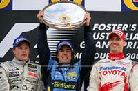 【F1 2006】第3戦オーストラリアGP、波乱のレースでアロンソ2勝目の画像