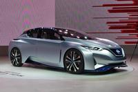 東京モーターショー2015に出展された「日産IDSコンセプト」。