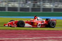 F1開幕戦オーストラリアGP、初日はフェラーリ1-2【F1 04】の画像
