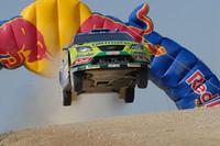 「フォーカスRS WRC 07」を駆るミッコ・ヒルボネン。サスペンション破損で出遅れるも、最終的に3位で表彰台に立った。