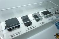 「マツダ・アテンザ」などが採用している安全運転支援システム「i-アクティブセンス」のセンサー。