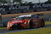 大嶋和也/国本雄資組のNo.6 ENEOS SUSTINA RC F。4位から順位を上げ、最終的に2位表彰台を獲得した。