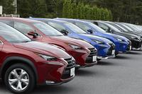 """""""Premium Urban Sports Gear""""をコンセプトに開発された、レクサスの新型SUV「NX」。日本国内では、2014年7月末に発売された。"""