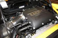 最高出力406psを発生するスーパーチャージャー付き3.5リッターV6エンジン。