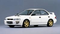 1996年に「インプレッサ」シリーズに追加された、「セダンWRX STi バージョンIII」。