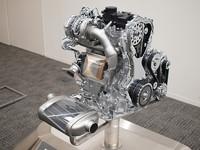高分散型リーンNOxトラップ触媒を採用した、「M9R」エンジン。