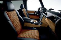 「メルセデスAMG G65」に標準装備されるツートーンダッシュボード。