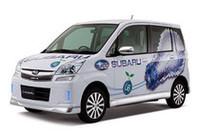 富士重、スバル・ステラの電気自動車を発表の画像