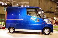 「FRC」も宅配ビジネスを想定しているが、レジャ−カーとしての用途も考えられている。