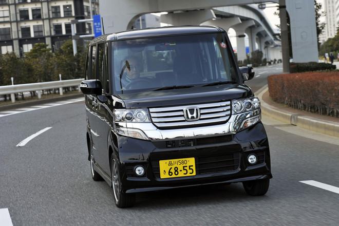 ホンダN BOXカスタム G ターボパッケージ(FF/CVT)【試乗記】