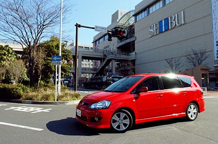 トヨタ・イプサム240s7人乗り(4AT)【ブリーフテスト】