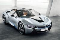 「BMW i8コンセプト スパイダー」