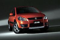 スズキとフィアットの共同開発車「SX4」、2006年春にリリースの画像