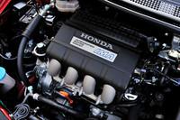 2012年9月のマイナーチェンジを機に、ベースとなるガソリンエンジンは、高回転・高出力型の1.5リッターi-VTECに変更された。