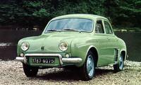 こちらはフランス本国における4CVの正常進化モデルである、1956年に登場した「5CVドーフィン」。4CVやコンテッサよりひとまわり大きいボディのリアに845ccエンジンを搭載。