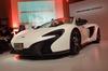 新型スポーツカー「マクラーレン650S」日本上陸