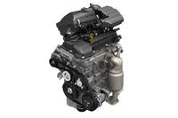 改良型の「R06A」型エンジン。従来のものと比べ、小型化、軽量化、低燃費化が図られている。