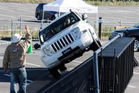ジープの走破性を街で体験! 「Jeep EXPERIENCE Caravan 2009」開催の画像