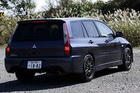 三菱ランサーエボリューションワゴンGT-A(4WD/5AT)【試乗記】の画像