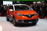 来春の発売が予定されている新型車「ルノー・キャプチャー」(下写真も)