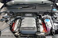アウディバルブリフトシステムを採用した、3.2リッターV6エンジン。