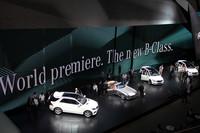 EVのフルライン化進む メルセデス・ベンツブース 【フランクフルトショー2011】の画像
