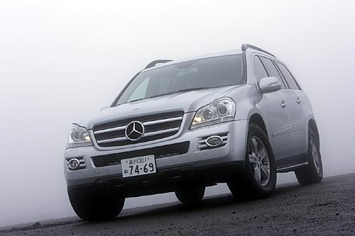 メルセデス・ベンツGL550(4WD/7AT)【試乗記】