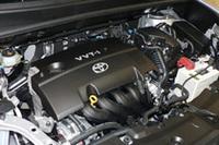 1.5リッター「1NFE VVT-i」エンジン。