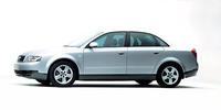 A4 2.0SE:全長×全幅×全高=4555×1765×1430mm/ホイールベース=2645mm/車重=1470kg/駆動方式=FF/2リッター直4DOHC20バルブ(130ps/5700rpm、19.9kgm/3300rpm)/車両本体価格=399.0万円