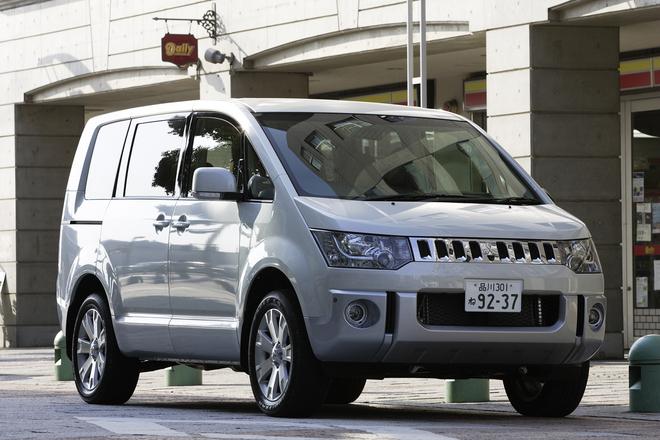 三菱デリカD:5 Gプレミアム(4WD/CVT)【試乗記】