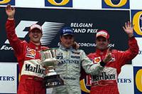 F1ベルギーGP、ライコネンV、シューマッハー7度目のタイトル獲得!【F1 04】の画像