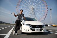 """第376回:「ホンダ・オデッセイ」試乗日記 in 神戸これはミニバンじゃない、""""オデッセイ""""だ!!の画像"""