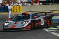 1997年のルマン24時間レースでクラス優勝を果たした、「F1 GTRロングテール」。