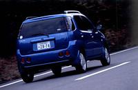 【スペック】X 4WD:全長×全幅×全高=3625×1610×1610mm/ホイールベース=2360mm/車重=990kg/駆動方式=4WD/1.3リッター直4DOHC16バルブ(88ps/6000rpm、12.0kgm/3400rpm)/車両本体価格=149.8万円(テスト車=同じ)
