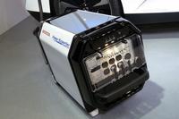 最大で9kWの電力を供給できる、外部給電器の「ホンダ・パワーエクスポート コンセプト」。