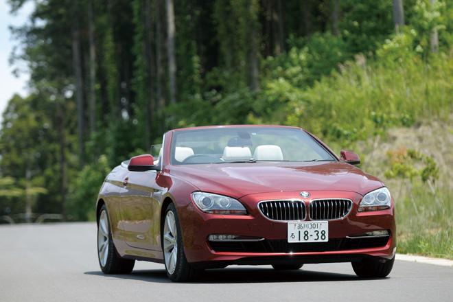 BMW640iカブリオレ(FR/8AT)【試乗記】