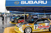 ラリーのみならず、国内選手権にも新型インプレッサ・ベースのマシンが投入される。スーパーGTでは「クスコレーシングチーム」から、スーパー耐久では「プローバ・レーシングディビジョン」からエントリー。