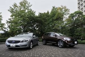 ボルボV60 T4 SE(FF/6AT)/XC60 T6 AWD(4WD/6AT)【試乗記】