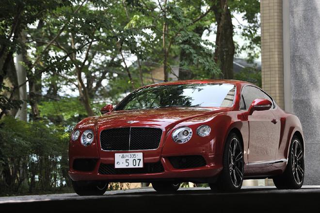 ベントレー・コンチネンタルGT V8(4WD/8AT)【試乗記】