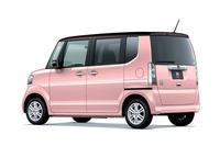 「N-BOX G・Lパッケージ 2トーンカラースタイル」(プレミアムピンク・パール/ブラウン)