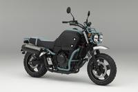 ホンダが発表したコンセプトバイクの「ブルドック」。
