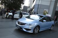 ホンダの新型6シーター車「ジェイド」発売の画像
