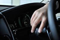 車載燃費計の数字をリセットしてスタート。