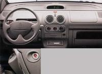 写真左下は、助手席側エアバッグのOFFスイッチ。【スペック】全長×全幅×全高=3425×1630×1435mm/ホイールベース=2345mm/車重=880kg/駆動方式=FF/1.2リッター直4SOHC8バルブ(58ps/5250rpm、9.3kgm/2500rpm)/車両本体価格=149.0万円(テスト車=同じ