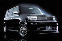 上から「クラウンセダン」「ハリアー特別仕様車プライムナビセレクション」「bB特別仕様車 煌エディション・Xバージョン」
