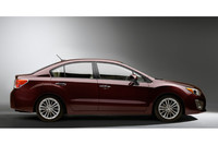 新型「スバル・インプレッサ」4ドアモデル(北米仕様)