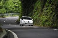 3衛星対応だからこんな峠道やビルが林立する街中でも衛星を受信する確率が高まる。